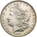 1878-1921 Silver Morgan Dollar Melt Value
