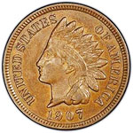 1864-1909 Indian Head Copper Cent Melt Value