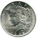 1921-1935 Silver Peace Dollar Melt Value