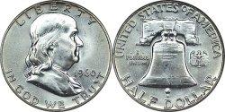 1948 1963 Franklin Silver Half Dollar Melt Value
