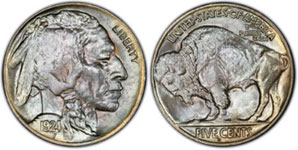 Buffalo Nickel Featuring Front And Back Of Coin